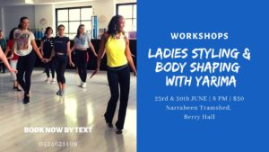 Ladies Styling & Body Shaping Workshops with Yarima