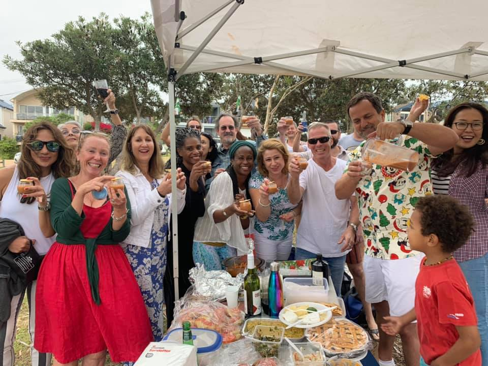 Salsa Social party